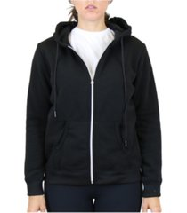 galaxy by harvic women's fleece-lined zip hoodie