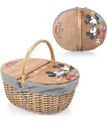 picnic time country basket - mickey and minnie