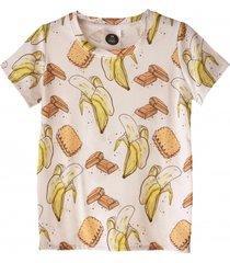t-shirt bananas white
