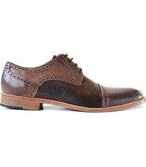 zapato marrón briganti liam