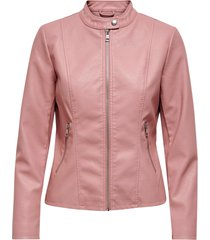 jacka onlmelisa faux leather jacket