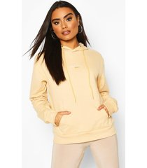 official woman over the head hoodie, sand