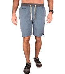 men's color block micrograph hybrid windjammer shorts