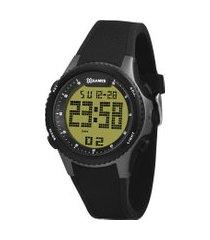 relógio digital x-games masculino - xmppd606 preto