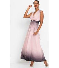 jurk met knoopdetail