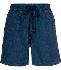 etro drawstring waist swim shorts - blue
