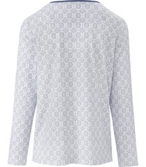 pyjama van 100% katoen van rösch blauw