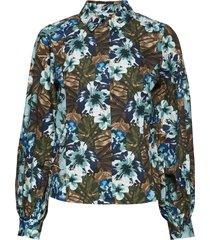 stellagz shirt ms20 blouse lange mouwen multi/patroon gestuz