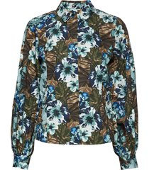 stellagz shirt ms20 blouse lange mouwen multi/patroon gestuz