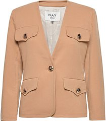 day arrow blazers business blazers beige day birger et mikkelsen