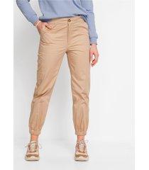 broek met elastische boordjes