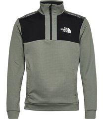 m ma 1/2 zip knitwear half zip jumpers groen the north face
