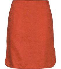 rhapsodypw sk knälång kjol orange part two