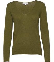 pullover ls gebreide trui groen rosemunde