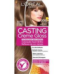 coloração casting creme gloss l'oréal paris 700 louro natural