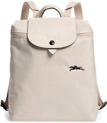 longchamp le pliage club backpack - white