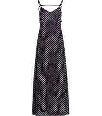 dots long dress