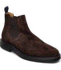 kyree chelsea stövletter chelsea boot brun gant