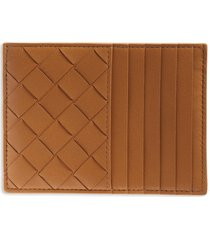 women's bottega veneta intrecciato leather card case -