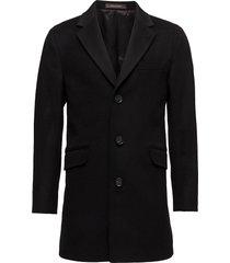 saks coat yllerock rock svart oscar jacobson