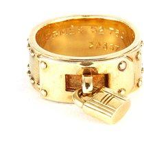 hermes gold ring