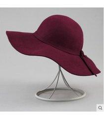 sombrero de viento retro británico damas tendencia casual sombrero salvaje
