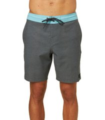 o'neill staple cruzer board shorts, size 36 in graphite at nordstrom