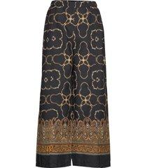 pernilla culotte casual byxor brun masai