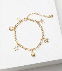 loft beach charm bracelet