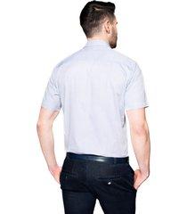 koszula bexley 2511 krótki rękaw regular fit fiolet