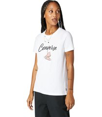 converse camiseta dungling chuck white