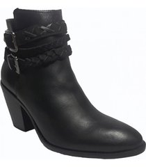 botin aratiba negro we love shoes