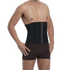cinta modeladora abdominal masculina academia fitness esbelt