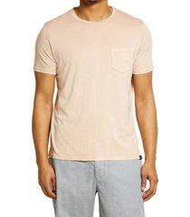 men's rails johnny pocket t-shirt, size x-large - pink