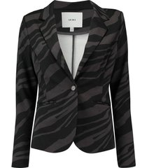 blazer kate animal antraciet