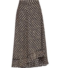 marigold, 635 stars poly knälång kjol svart stine goya
