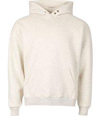 the vintage hoodie, cream heather