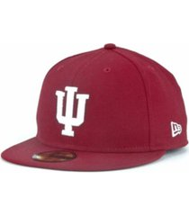 new era indiana hoosiers 59fifty cap
