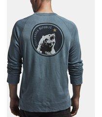 california republic vintage fleece sweatshirt