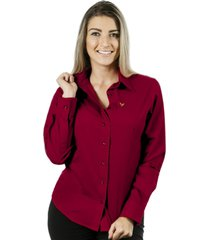 camisa pimenta rosada alessa vermelha