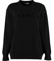 logo cachemire pullover