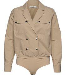 adalinegz shirt body ms20 t-shirts & tops bodies beige gestuz