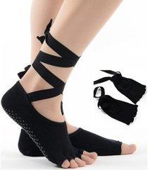 dildo donna donna yoga calze balletto sportivo antiscivolo con visiera scoperta 7335166 calze