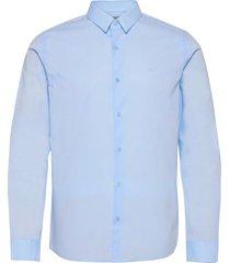 bari st shirt l/s skjorta business blå calvin klein jeans