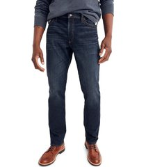 men's madewell slim straight fit jeans, size 31 x 34 - blue