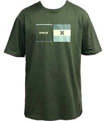 camiseta hurley breaking point masculina