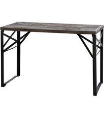 biurko drewniano metalowe warehouse