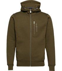 bowman zip hood hoodie trui groen sail racing