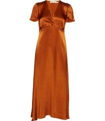 zintraiw dress maxi dress galajurk oranje inwear