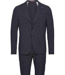 packable flex fks slim fit suit kostym blå tommy hilfiger tailored